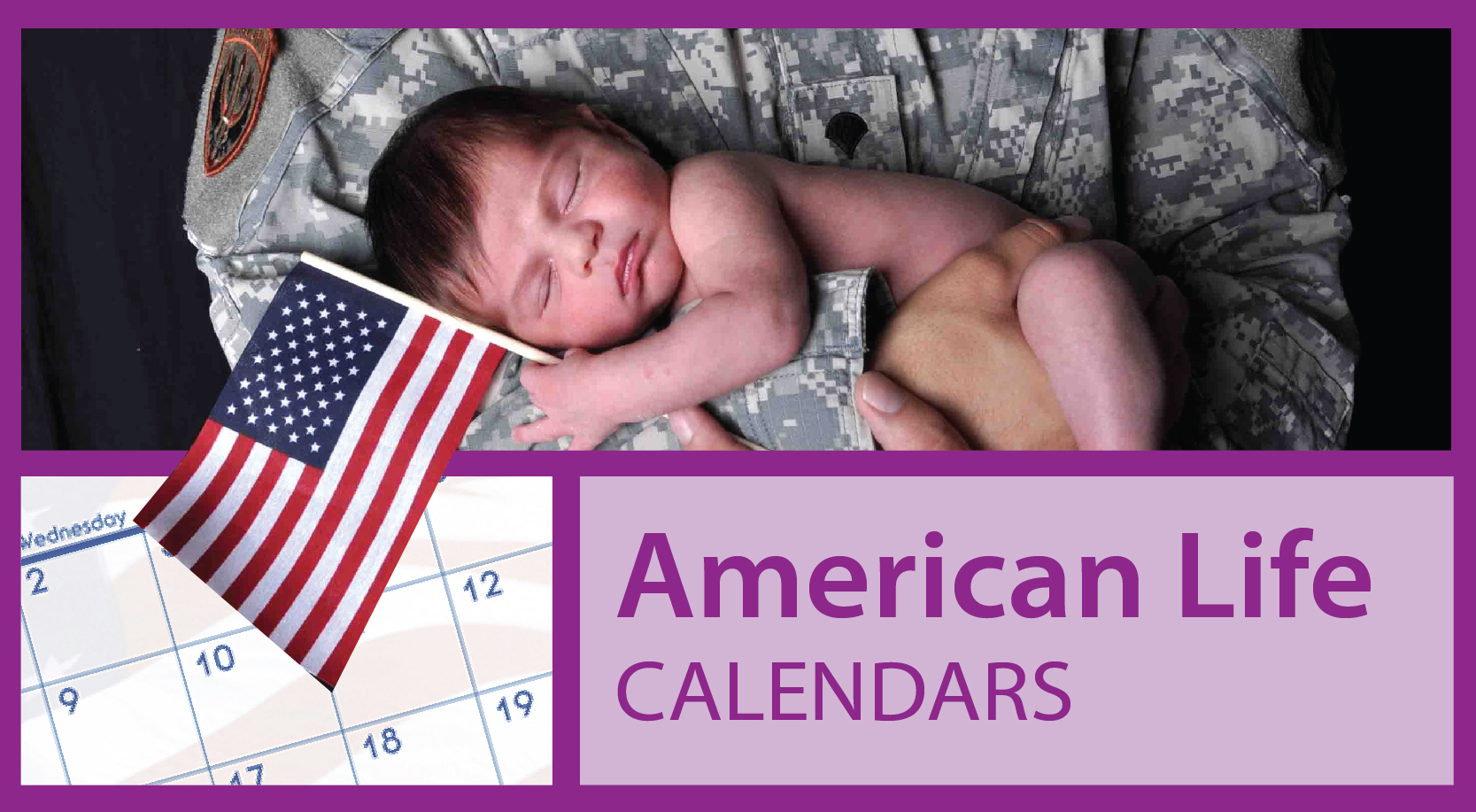 American Life Calendars | Promotional Patriotic Calendars | Custom Military Calendars
