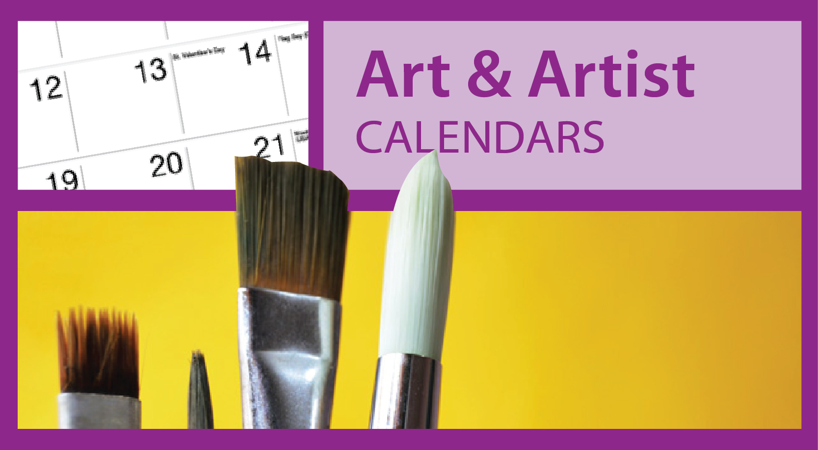 Promotional Art & Artist Calendars https://www.valuecalendars.com/products/standard_imprinted_calendars/promotional_art_calendars