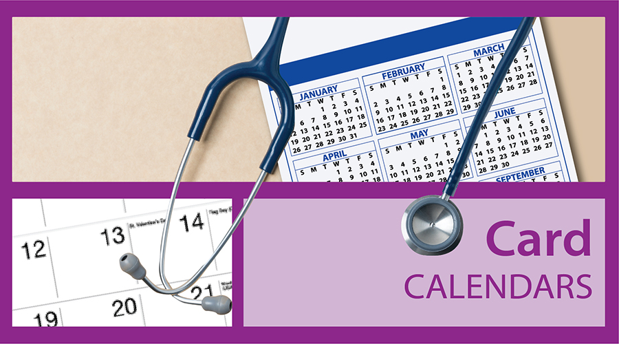 Card Calendars for Business | Custom Promotional Card Calendars