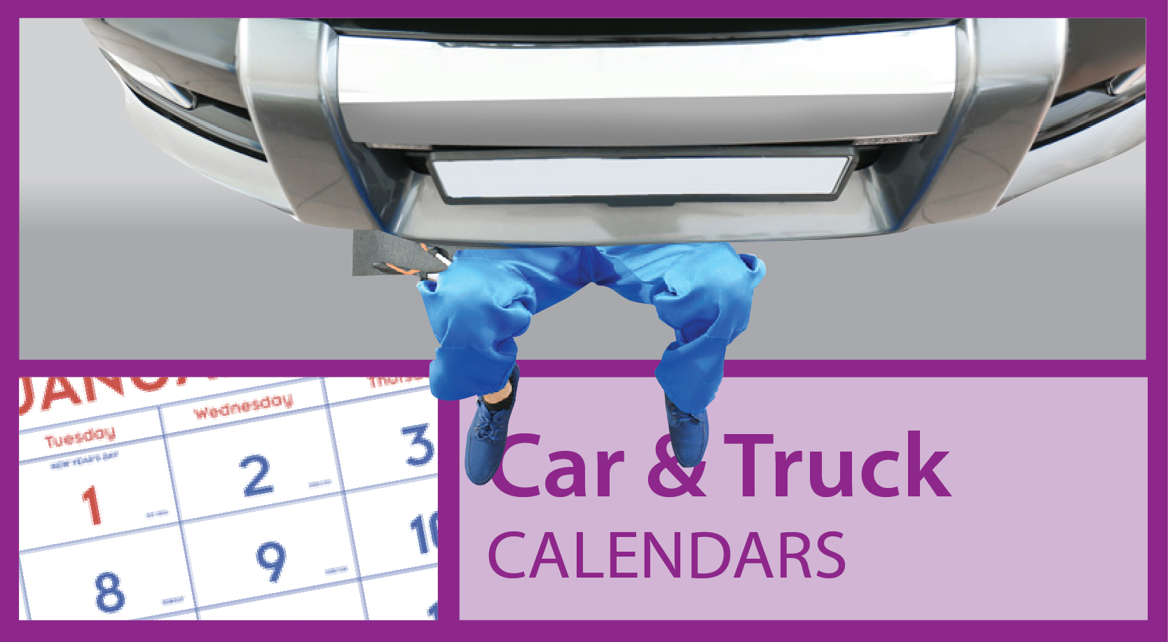 Tractor Calendars | Vehicle Calendars
