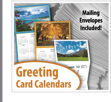 Z fold greeting card calendars promotional tri fold greeting card promotional greeting card calendar printing service for business reheart Choice Image