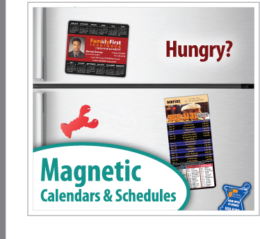 Custom Promotional Magnetic Calendars | Custom Magnetic Business Calendars