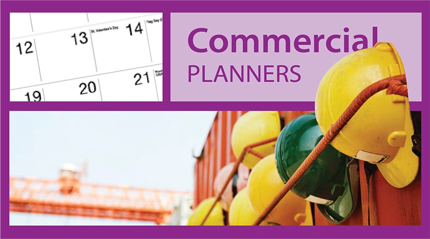 Promotional Commercial Planner Calendars for Business