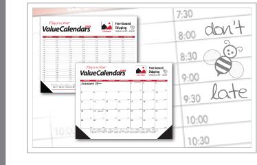 Custom Desk Pad Calendars Promotional Deskpad Blotter Calendars - Desk blotter calendar