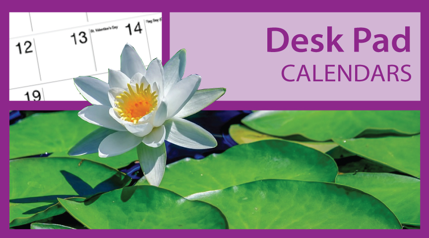 Promotional Desk Pad (Blotter) Calendars