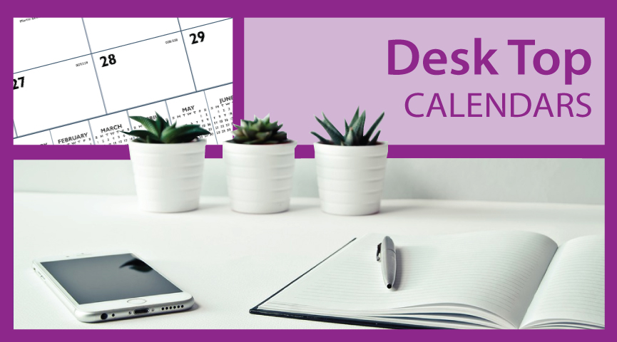 Promotional Desk Top Calendars