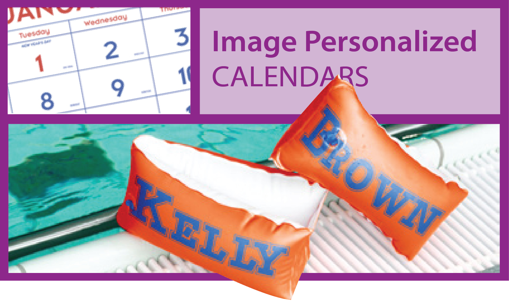 Promotional Image Personalized Calendars