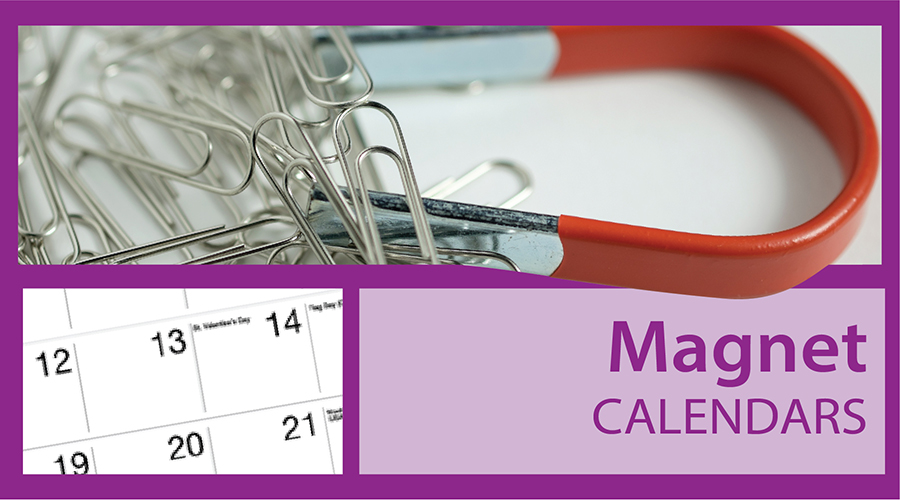 Magnetic Custom Calendars | Imprinted Magnet Calendars