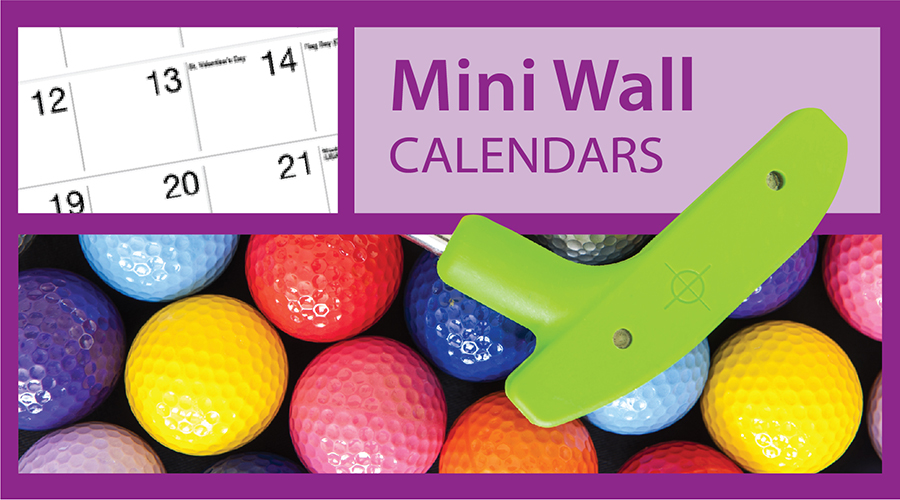 Custom Mini Wall Calendars