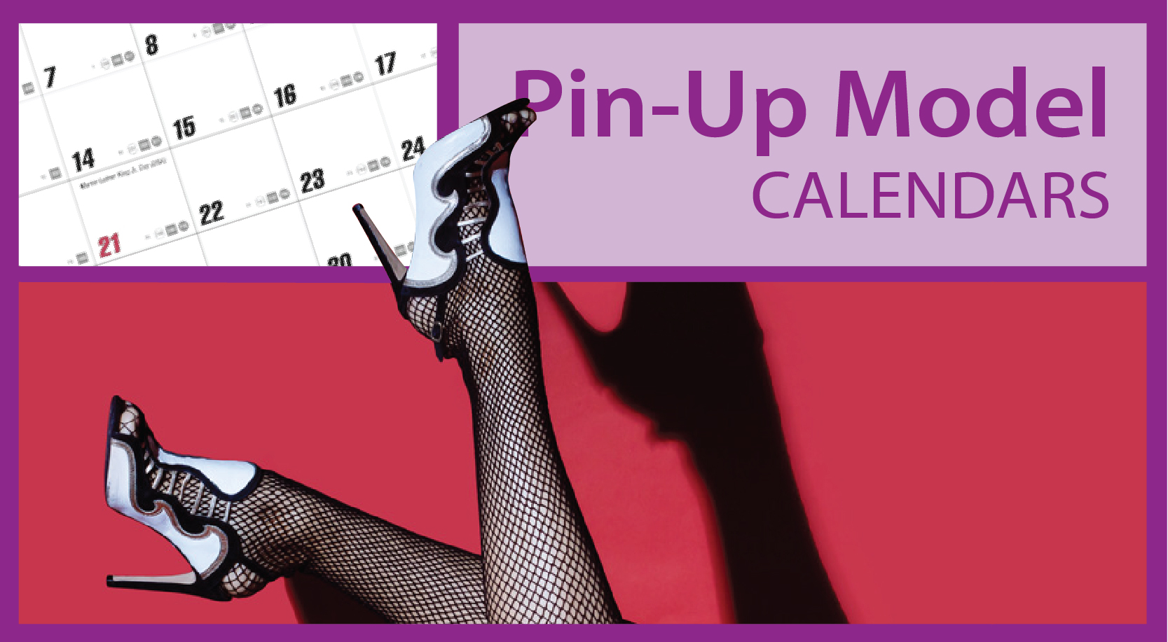 Promotional Pin-Up Model Calendars