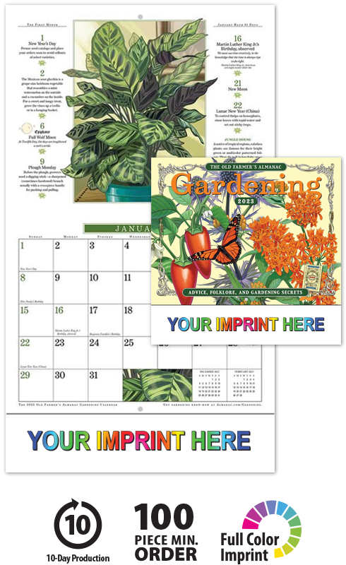 14 Laminated Weekly Planner Garden Vegetables