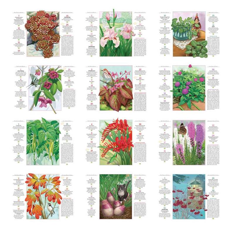 2018 Old Farmers Almanac Gardening Calendar 10 12 x 18 14
