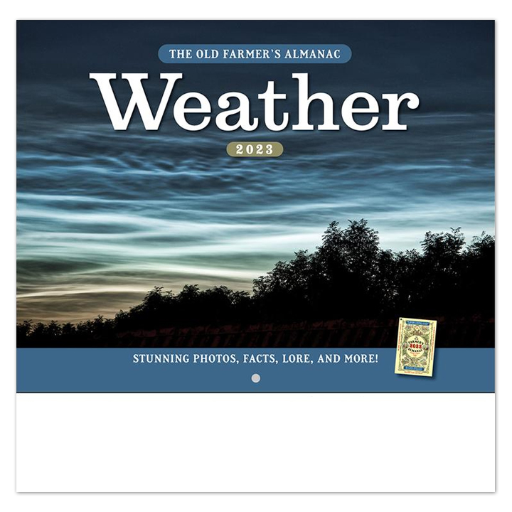 2019 Old Farmers Almanac - Weather Calendar   10-1/2\