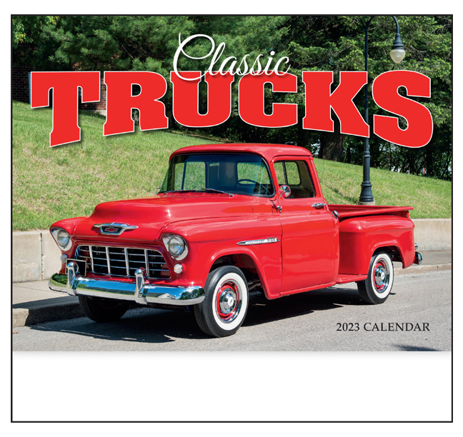 2019 Classic Trucks Calendar | 10-7/8\