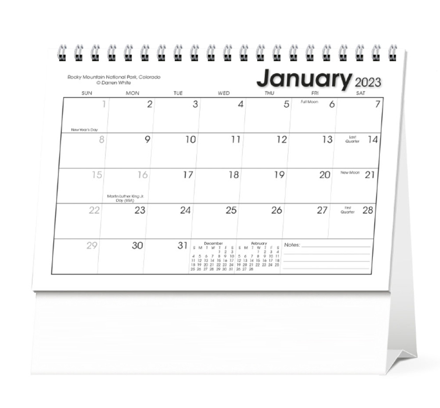 2020 Scenic Moments Large Desk Calendar 7 1 2 X 6 1 2 Imprinted