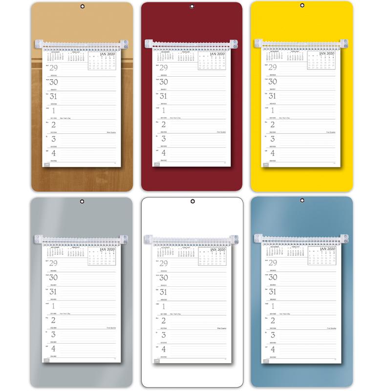 "2019 Weekly Memo Board Calendar | 7"" x 13"" Imprinted Board Calendars"
