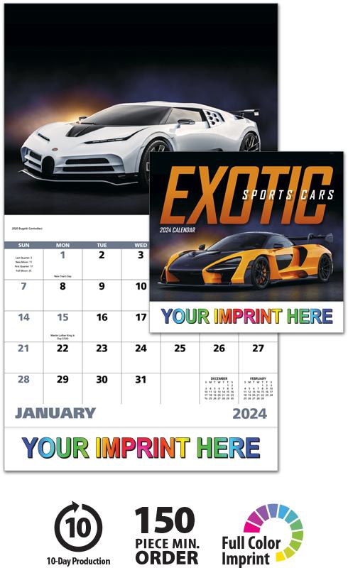 2021 Exotic Sports Cars Calendar   11