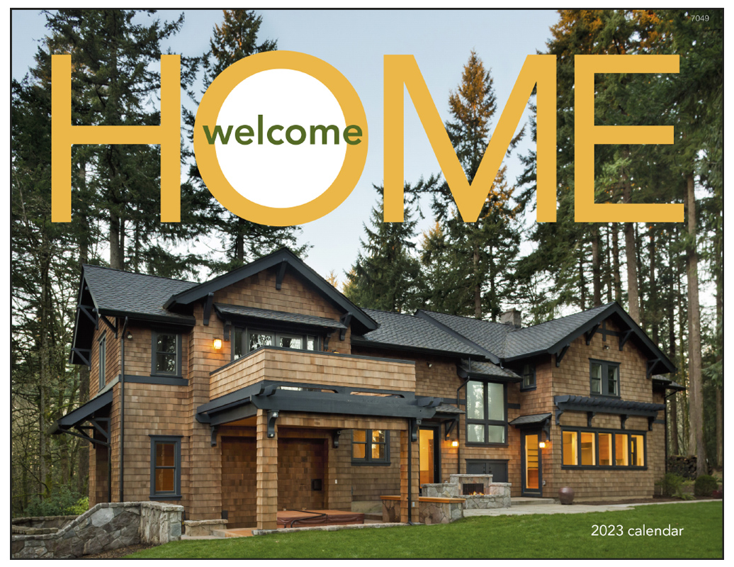 Welcome Home 2020.2020 Welcome Home Window Calendar 11 X 17 Imprinted