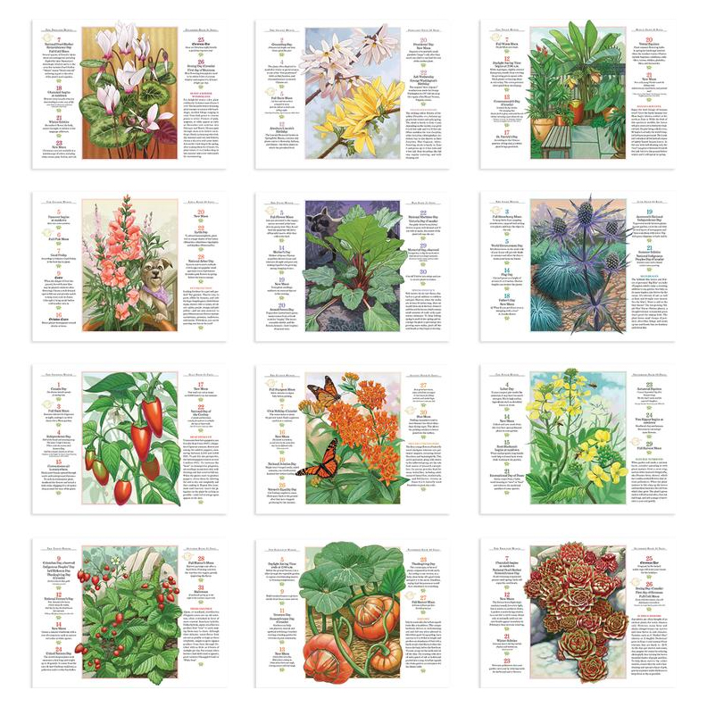 The 2018 old farmers almanac gardening calendar autos post for Gardening 2018 calendar