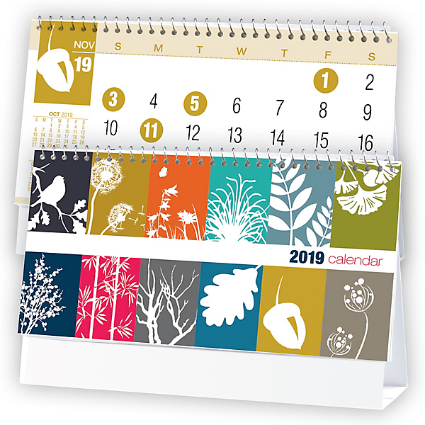 2020 Colorful Seasons 6 Sheet Desk Calendar 6 1 4 Quot X 4