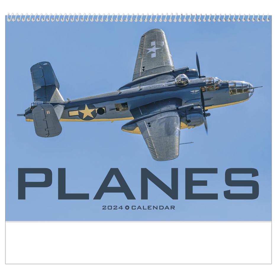 2020 planes calendar