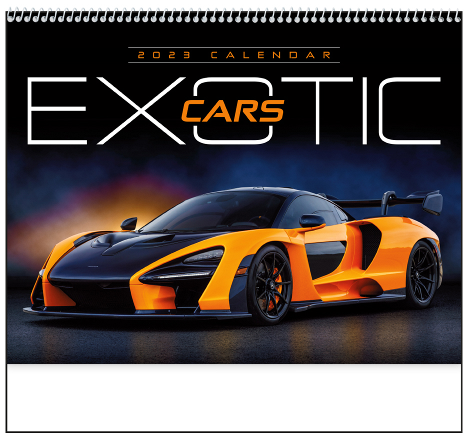 2019 Exotic Cars Calendar (1859)
