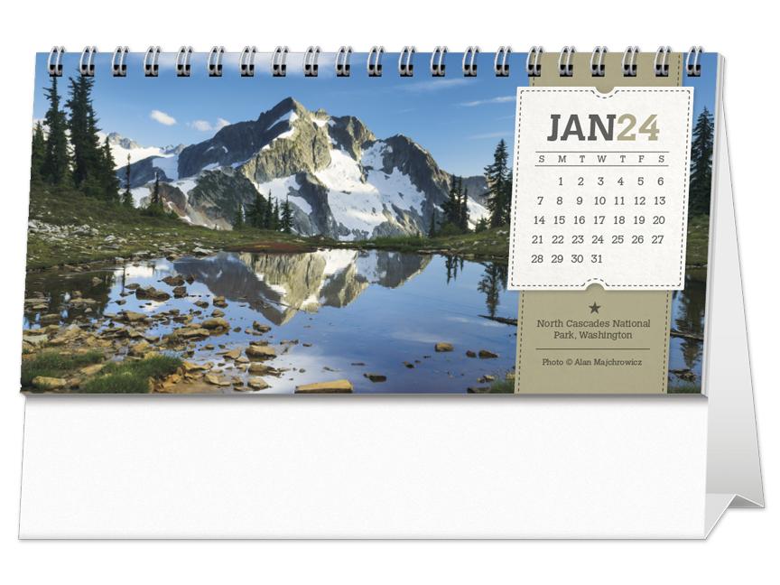 2020 American Splendor Desk Calendar 6 Quot X 4 1 2