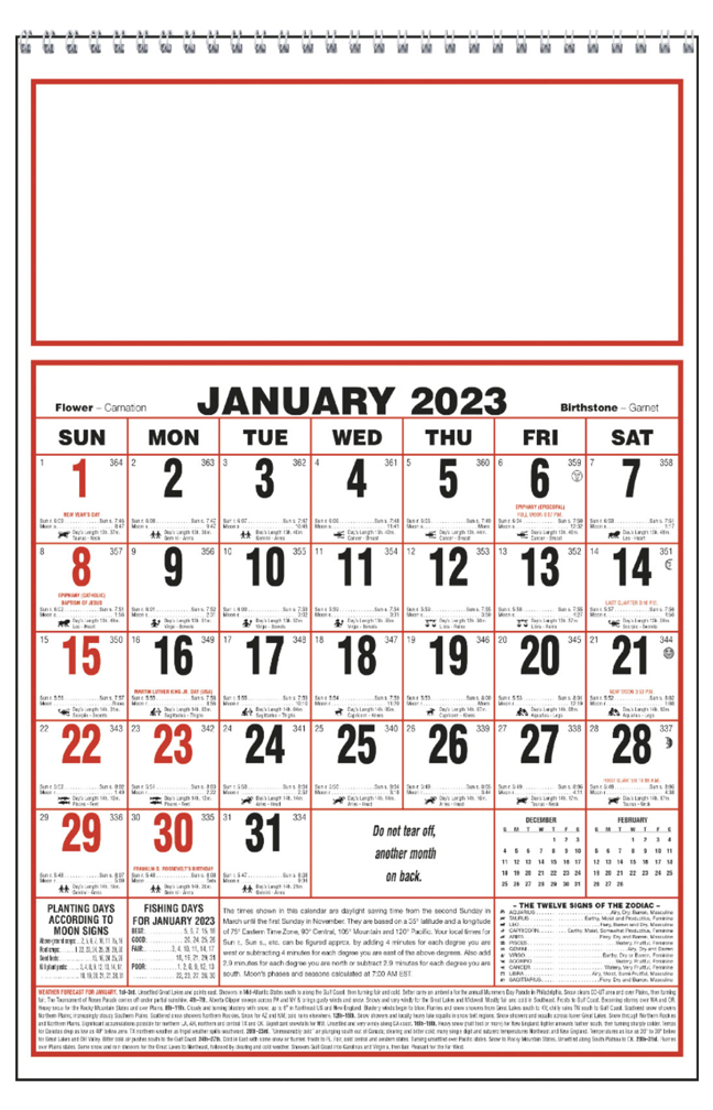 Farmers almanac calendar printable 2018 almanac calendar for Farmers almanac fishing calendar