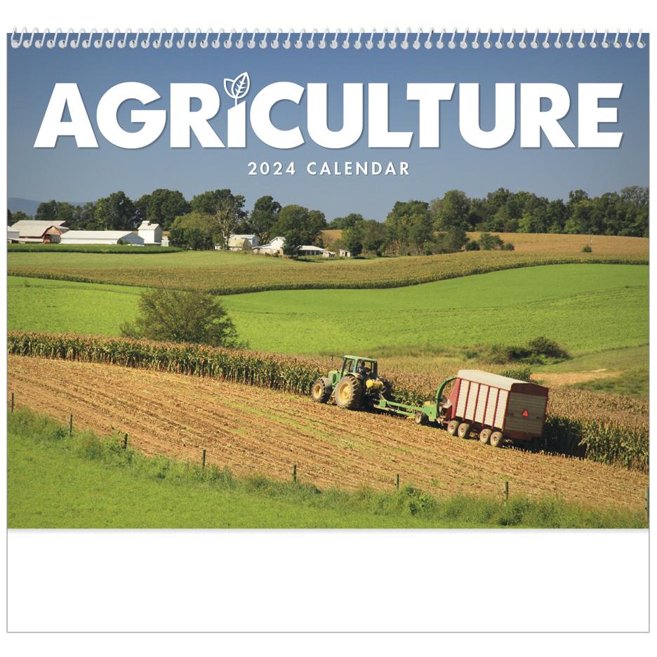 2020 Agriculture Calendar 11 Quot X 19 Quot Imprinted Spiral