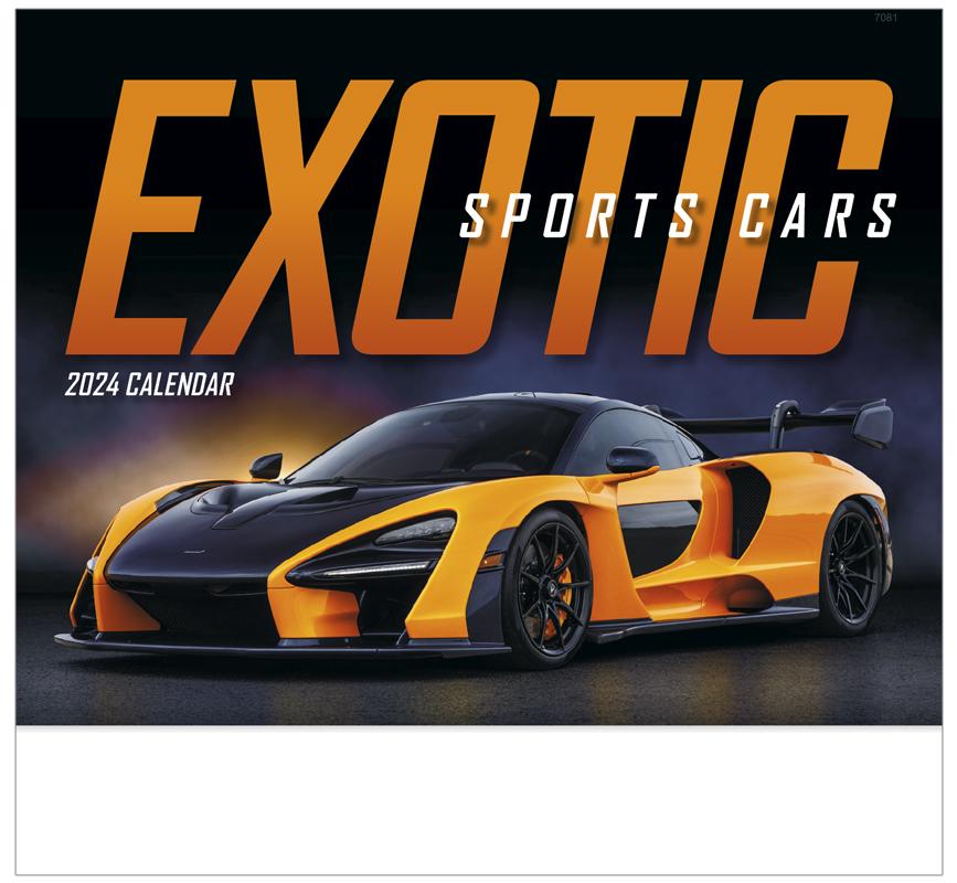 2020 Exotic Sports Cars Calendar