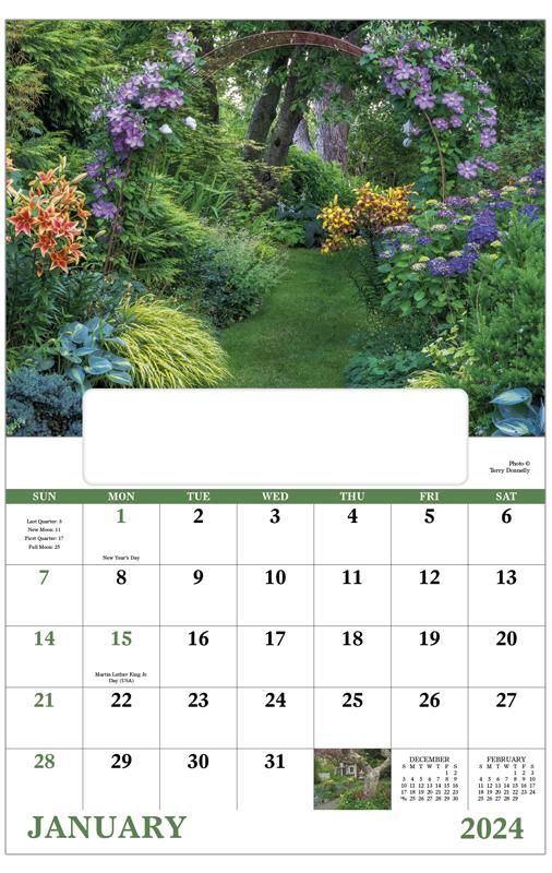 Garden Walk Mall: 2020 Garden Walk (Window) Calendar