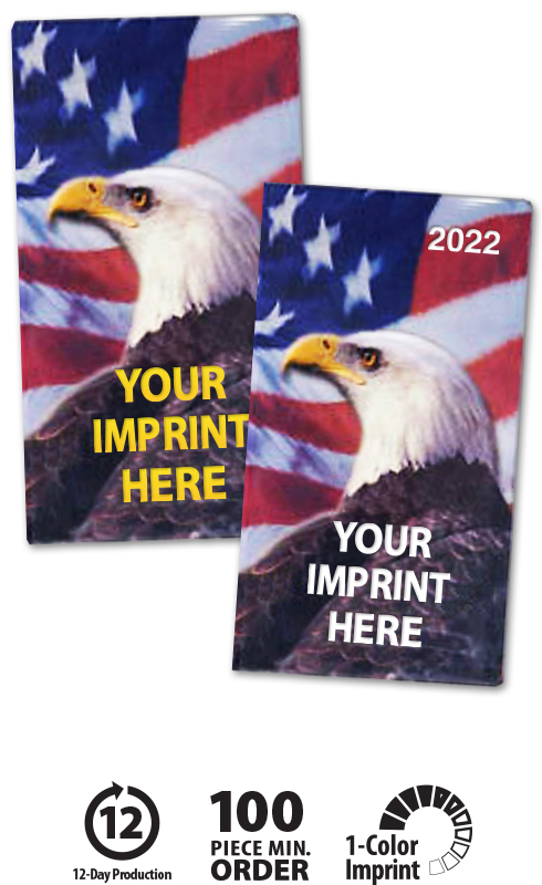 2020 Patriotic Liberty Pocket Monthly Planner American