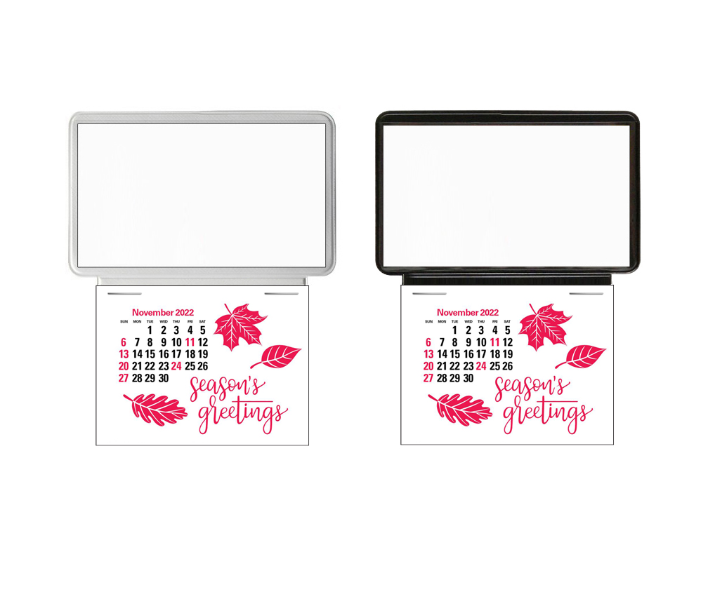 2019 business card holder calendar blank insert your for Business card calendar