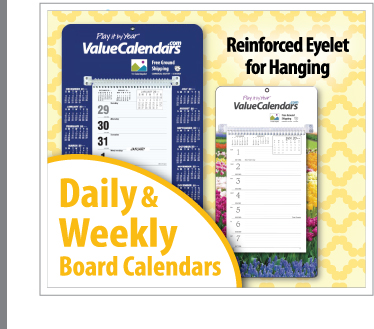 Daily Weekly Board Calendars