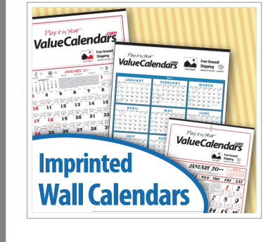 Promotional Wall Calendars | Custom Imprinted Wall Calendars for Businss