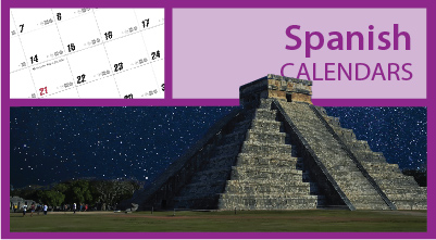 Promotional Spanish Bilingual Calendars
