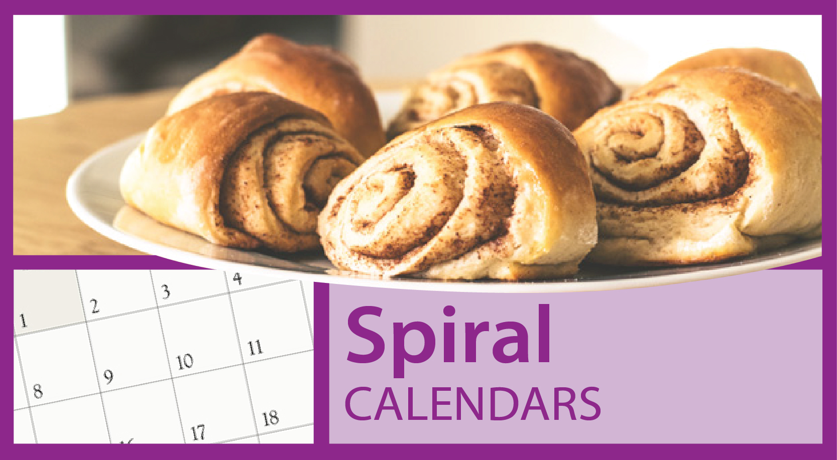 Custom Imprinted Spiral Bound Calendars