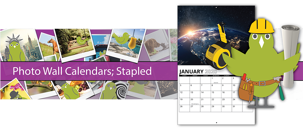 Custom Stapled Calendars | Custom Promotional Calendars