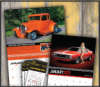 Car & Vehicle Calendars