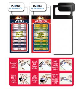 Tradenet Magnetic Business Card Pro Soccer Schedule (Blank/Bulk) Calendar