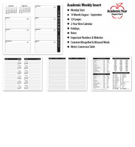 Fabric of Freedom Weekly Pocket Planner