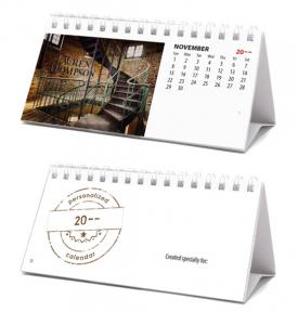 Image Personalized, Mini Desk Tent Calendar