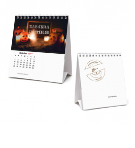 Image Personalized, Small Desk Tent Calendar