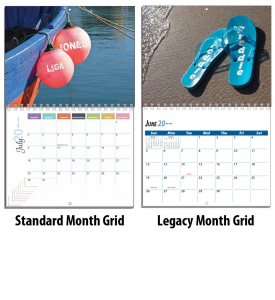 Image Personalized, Wall Calendar