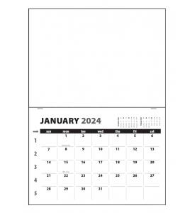 Single Photo, Stapled Pad Calendar
