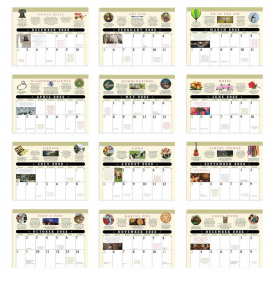 The Old Farmer's Almanac - Everyday Advice Spiral Calendar
