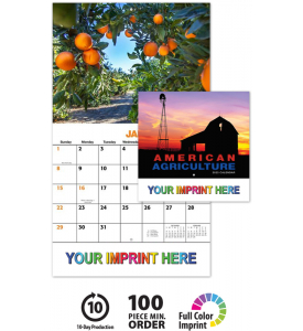 American Agriculture Calendars