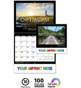 Motivational Spiral Calendar