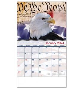 America! Spiral Calendar