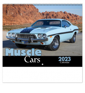 Muscle Car Spiral Calendar